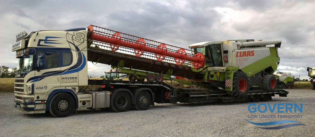 Govern Transport - Agricultural Machinery