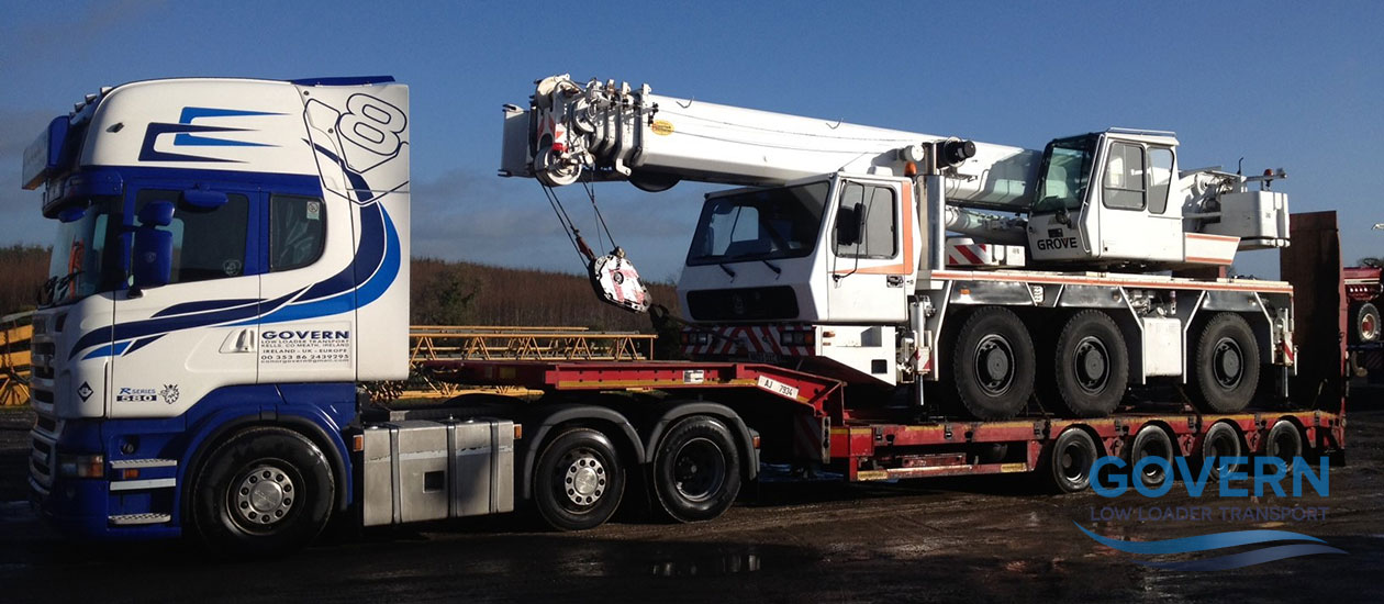 Govern Transport - Heavy Haulage